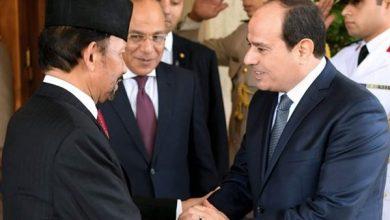الرئيس السيسي خلال لقاء سلطان بروناي