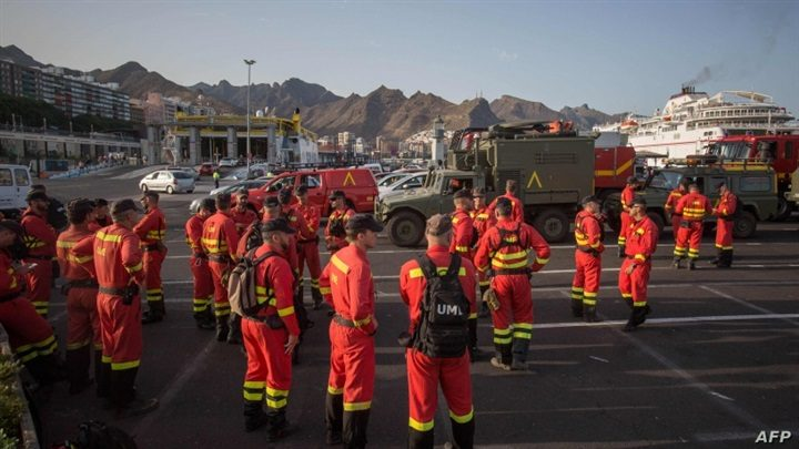 إجلاء مئات السكان في إسبانيا بسبب حرائق ضخمة