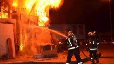 حريق بكفر الشيخ