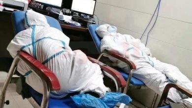 إصابة أطباء مستشفي الصين بسبب كورونا
