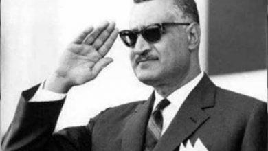 الزعيم جمال عبد الناصر