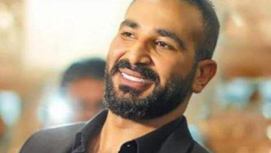 الفنان أحمد سعد