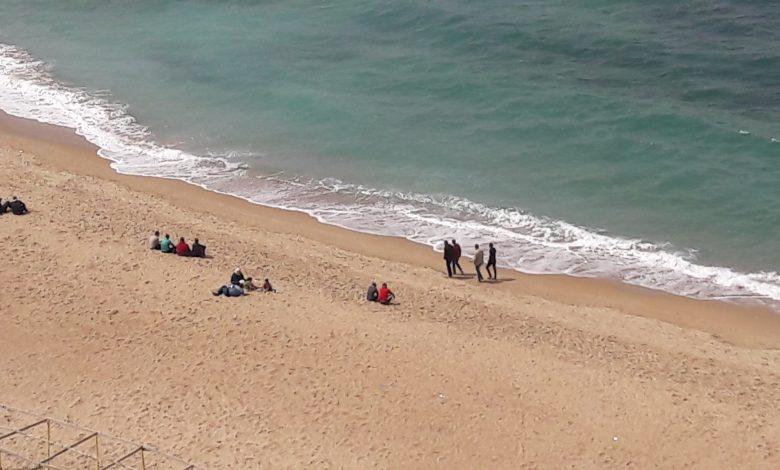 غلق الشواطئ