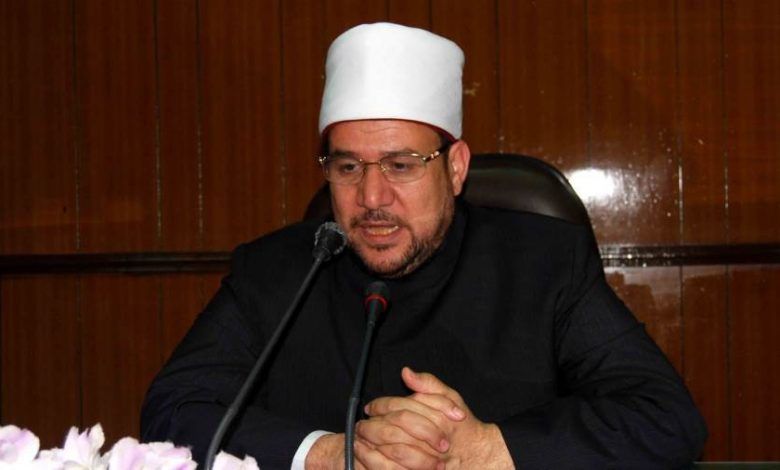 وزير الأوقاف د محمد مختار جمعة