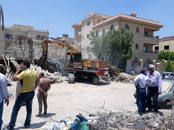 وقف تراخيص البناء في القاهرة