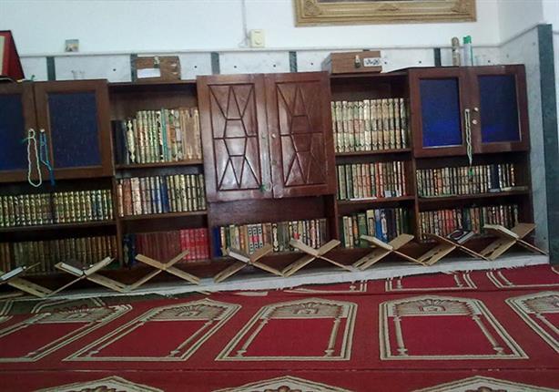 المكتبات بالمساجد