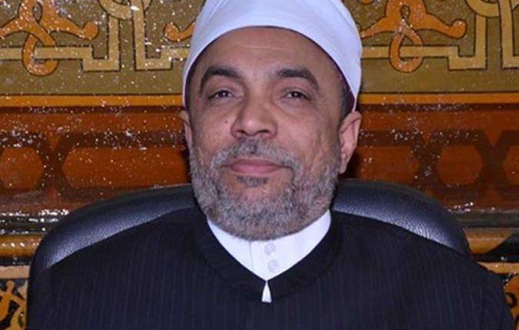 الشيخ جابر طايع رئيس القطاع الدينى بالأوقاف