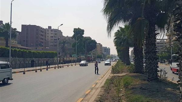 إغلاق شارع الهرم