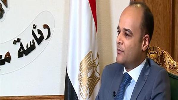 المستشار نادر سعد مجلس الوزراء
