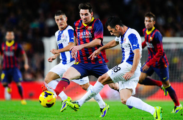 برشلونة وإسبانيول