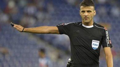 إستبدال حكم مباراة الريال مدريد و ألافيس في الشوط الثاني