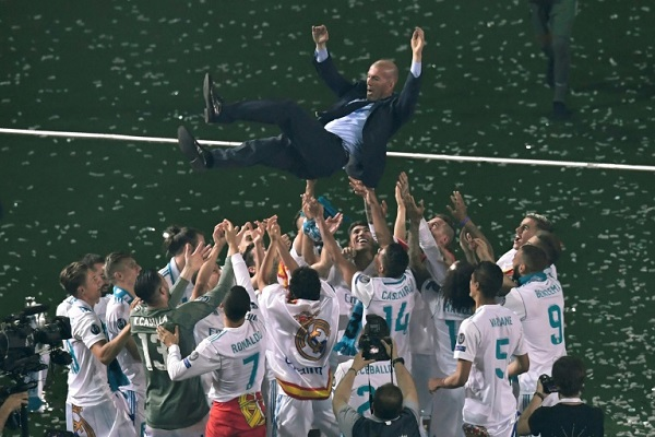ريال مدريد بطلًا لليجا للمرة ال34