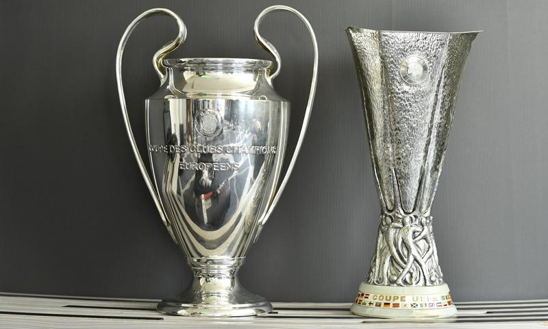 كأسي دوري الأبطال والدوري الأوربي