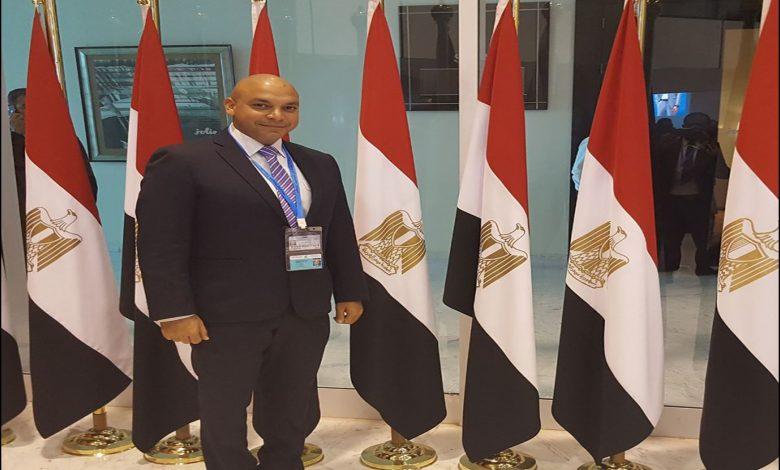 محمود القط عضو تنسيقية شباب الأحزاب والسياسين