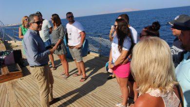 وزير السياحة والآثار يتفقد الإجراءات الوقائية