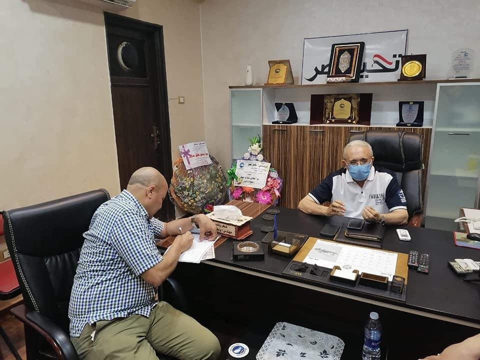 عبدالله تمام ينضم إلى حزب مستقبل وطن
