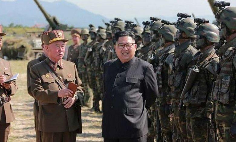 الجيش الكورى الشمالى