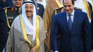 السيسي وامير الكويت