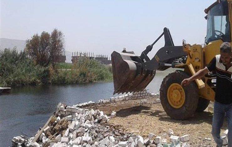 تعدي على النيل