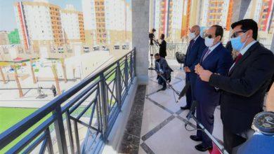 الرئيس السيسى يفتتح مشروع الأسمرات 3
