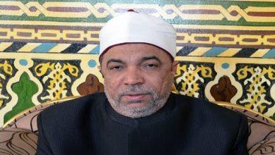 الشيخ جابر طايع رئيس القطاع الدينى