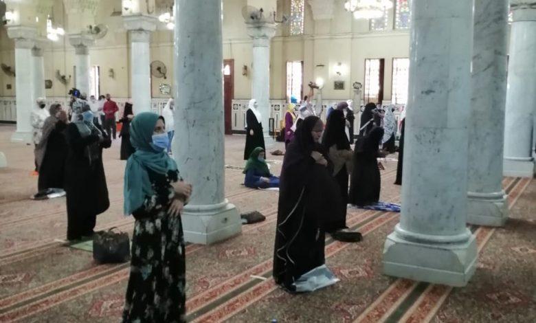 افتتاح مصلى السيدات بمسجد السيدة زينب