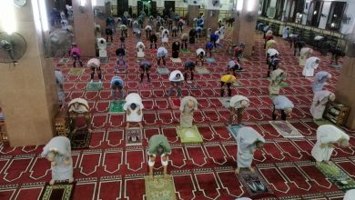 وعى المصلين خلال الاسبوع الثانى لفتح المساجد