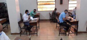 أثناء إجراء امتحانات المراكز الثقافية الإسلامية