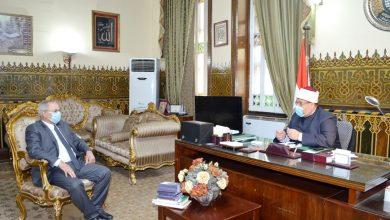 اجتماع وزير الأوقاف مع رئيس الجامعة المصرية الإسلامية بكازاخستان
