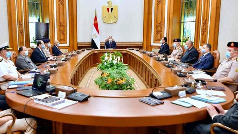 اجتماع مجلس الدفاع الوطني