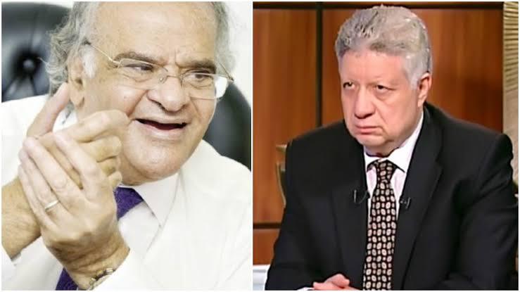 محمود عباس، ومرتضى منصور