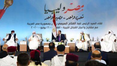 السيسي والقبائل الليبية