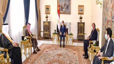 الرئيس السيسي و الأمير فيصل بن فرحان آل سعود