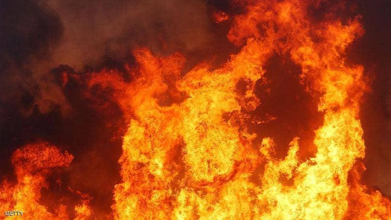 حريق اشيفية