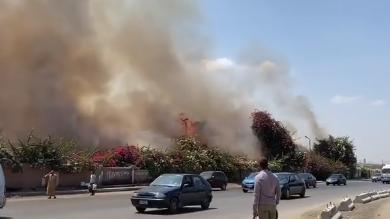 حريق ميدان الرماية