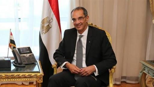 عمرو طلعت، وزير الاتصالات، إ