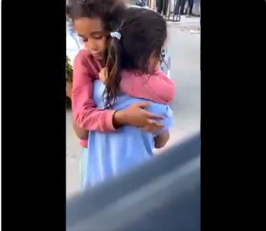 فيديو لفتاتين