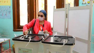 وزيرة البيئة تشارك في انتخابات الشيوخ