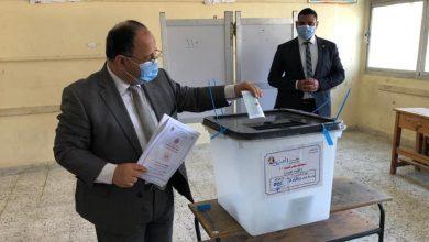 وزير المالية يُدلي بصوته