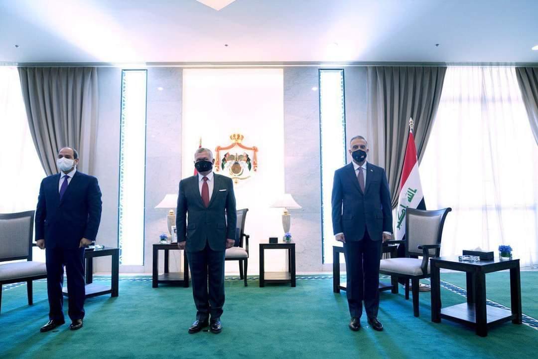 العاهل الأردنى والرئيس السيسي