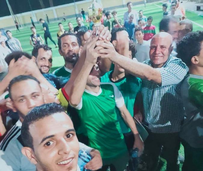 العقال القبلى تفوز بدورة الشهيد نادر رشاد