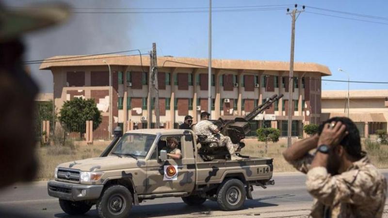 وقف إطلاق النار في ليبيا
