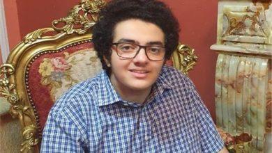 الطالب أحمد هشام الأول مكرر علمى علوم