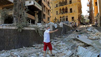 دمار في لبنان