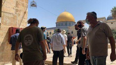 اقتحام قوات الاحتلال الصهيونى لساحات الأقصى