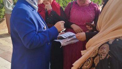 أثناء جولات الحملة