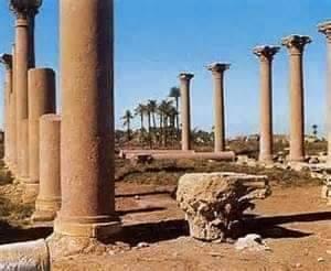 آثار مدينة الأشمونيين بالمنيا
