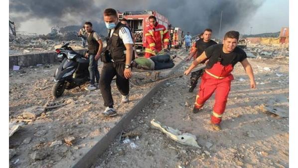 إصابات ووفيات انفجار لبنان