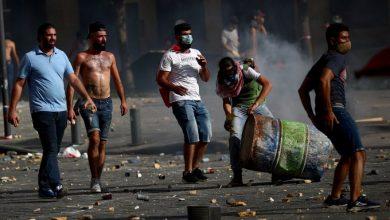 مظاهرات لبنانية