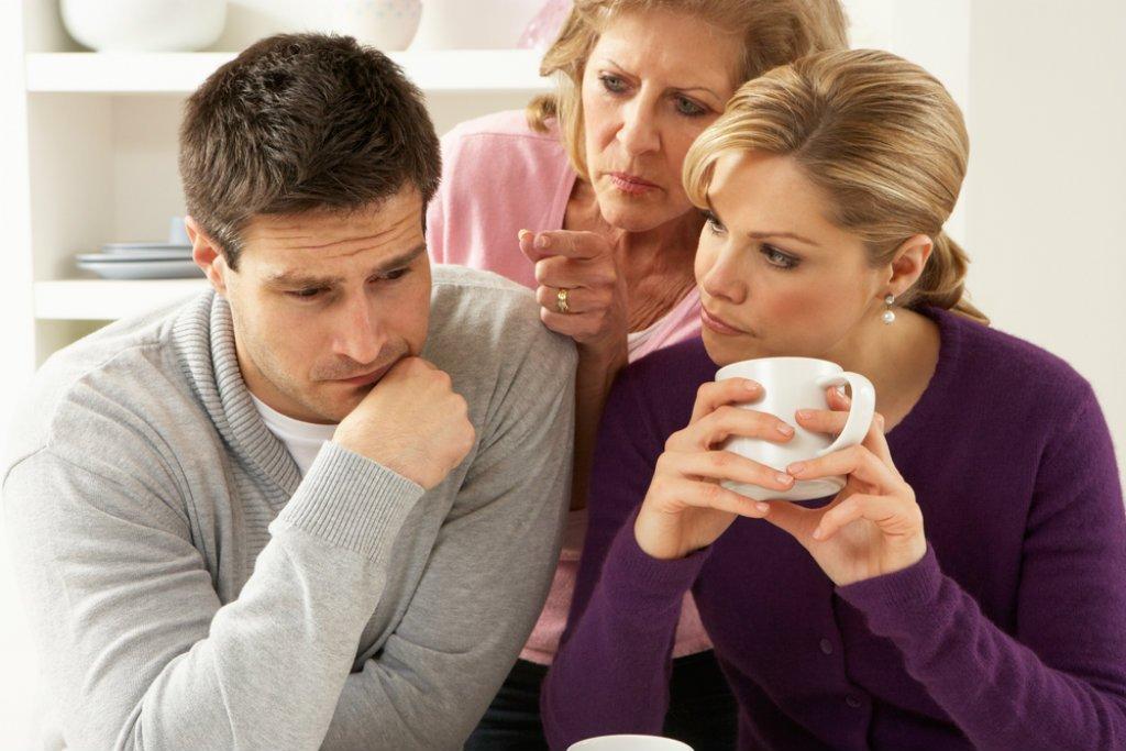 خلافات زوجية بيم الأم والزوجة